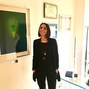 Marcella Caria in studio Carpi